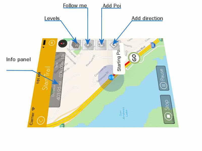 info page map